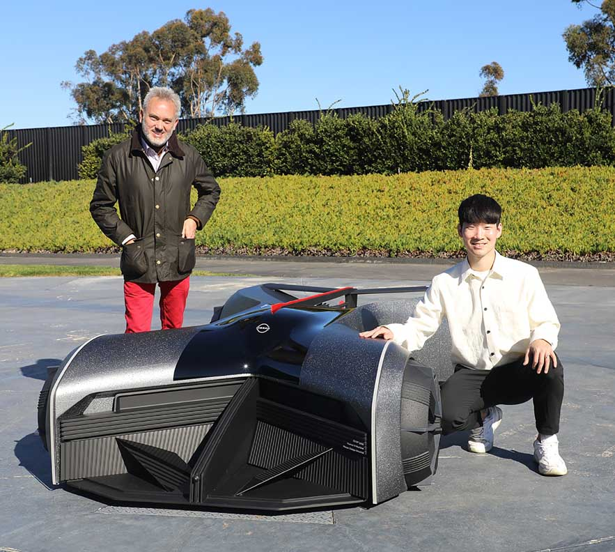 سيارة المستقبل الخارقة - نيسان جي تي آر أكس 2050
